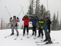 Dads and Sons in Deer Valley Feb 2014